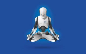 Robotmeditating